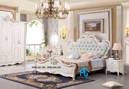 Giường tủ nhập khẩu 1721