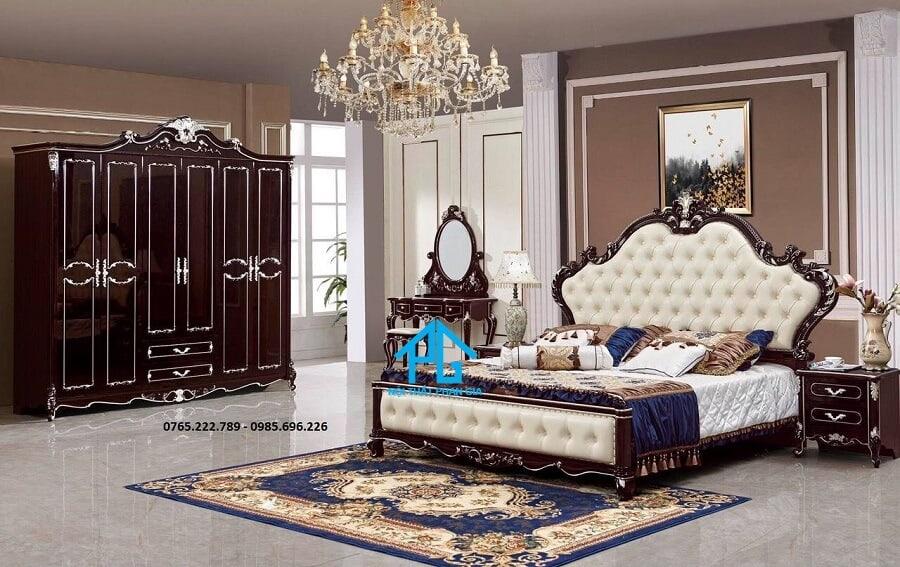 Giường tủ nhập khẩu PG1901