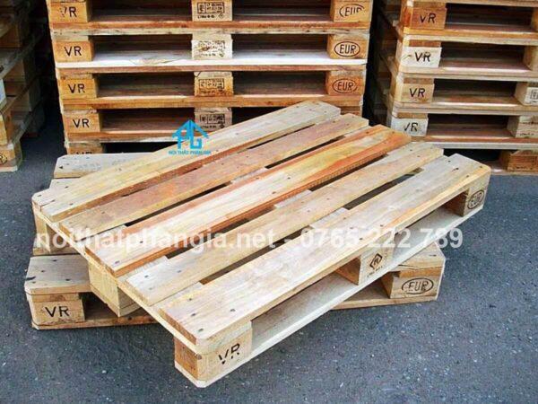 hướng dẫn lắp ghép giường gỗ pallet