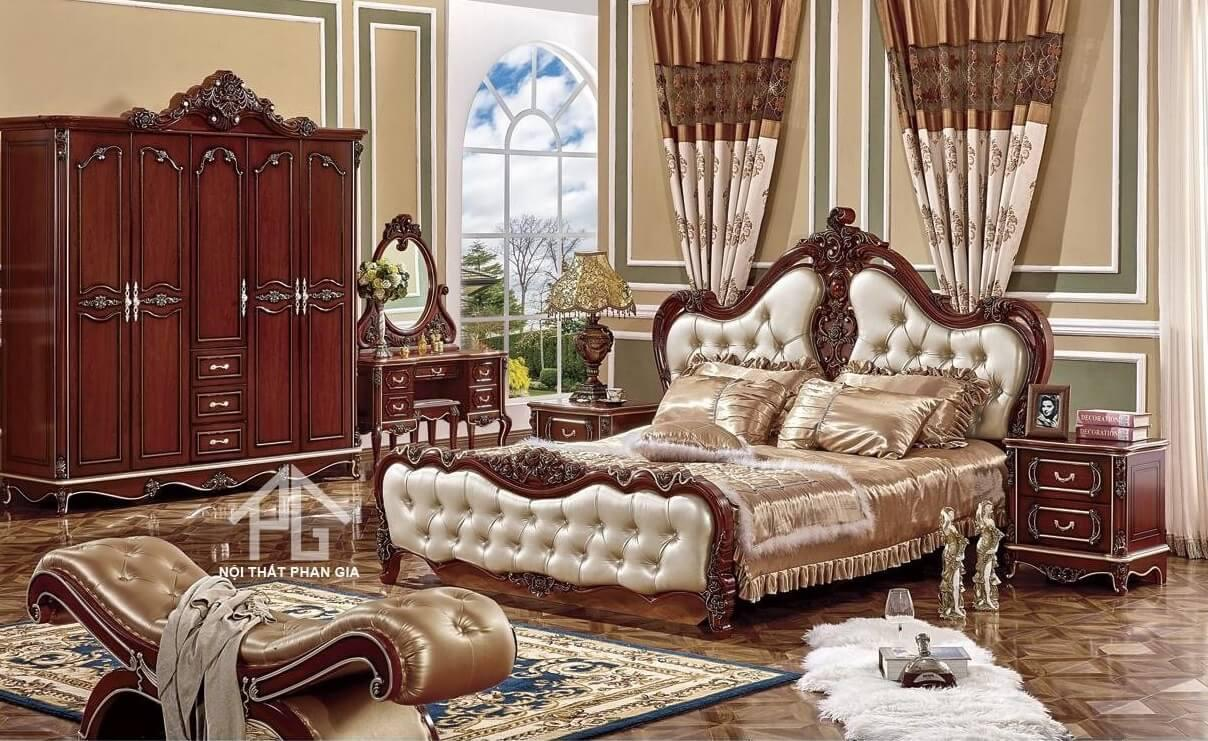 kích thước giường đôi lớn queen bed;