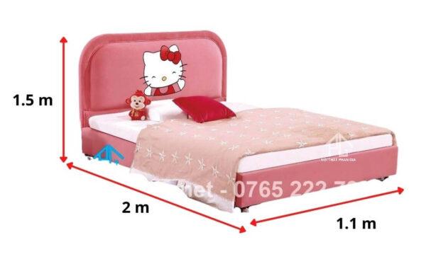 kích thước giường đôi