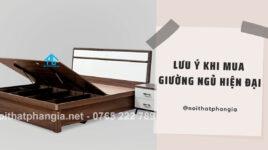 7 Lưu ý khi mua giường ngủ gỗ