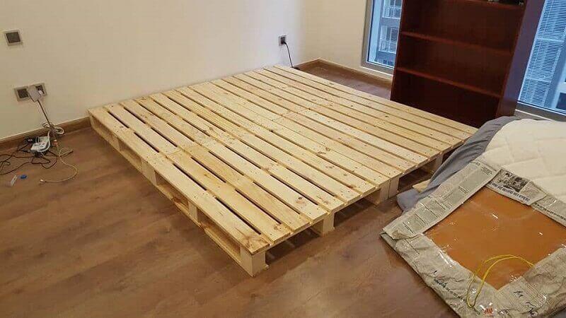 mua giường gỗ pallet đẹp