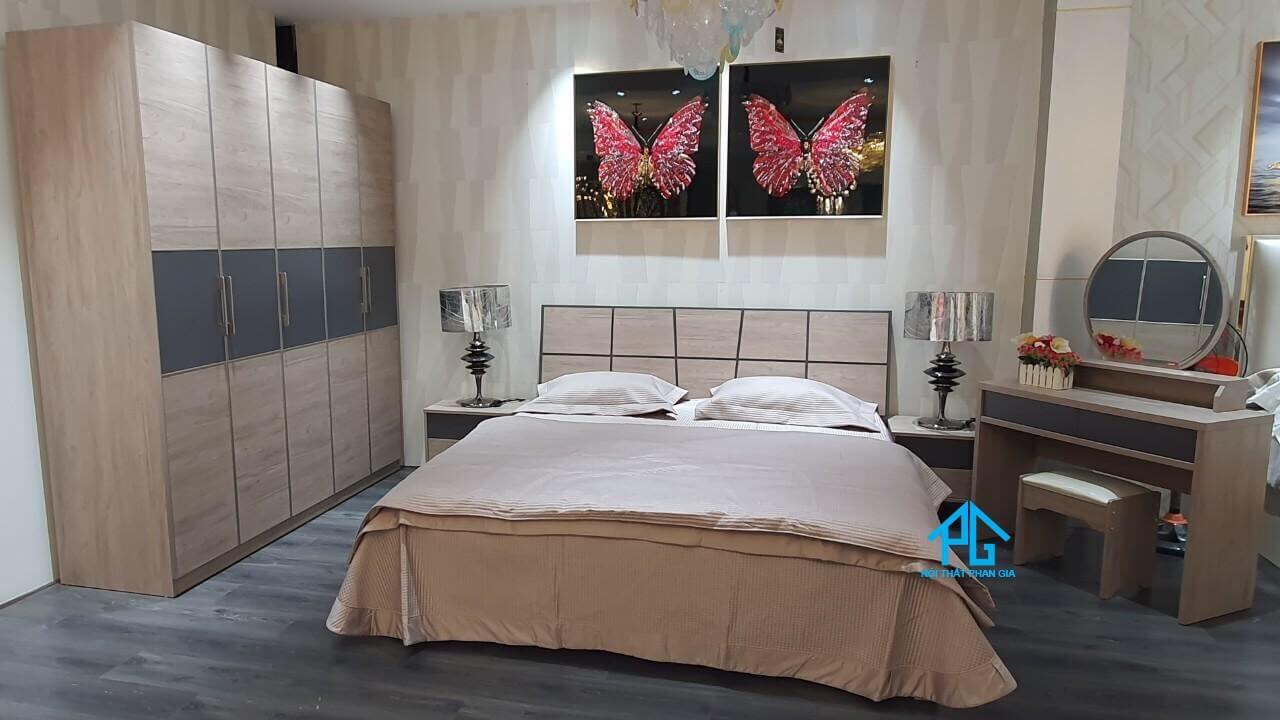 mua giường ngủ mdf giá rẻ hcm