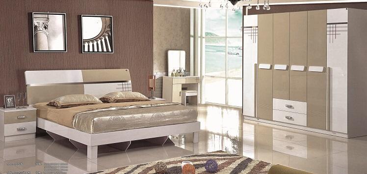 review combo giường tủ tân cổ điển