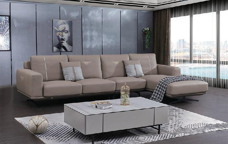 sofa da hiện đại cao cấp nhập khẩu