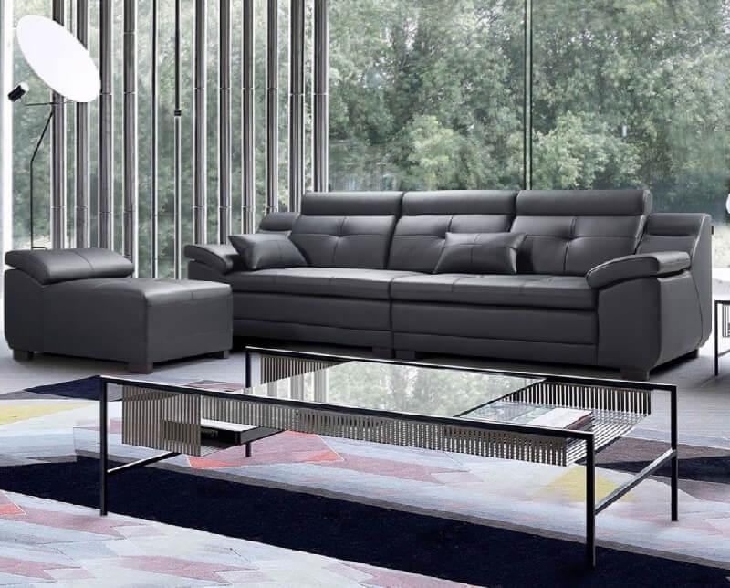 sofa da hiện đại chất lượng