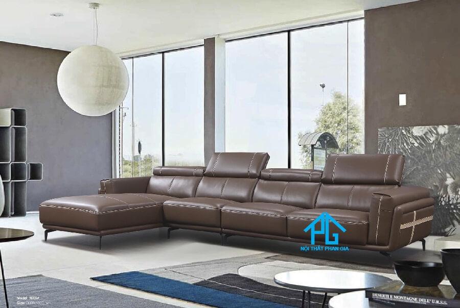 Sofa da nhập khẩu 9205