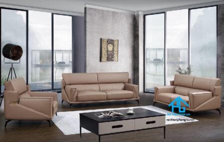 Sofa da nhập khẩu KB8552
