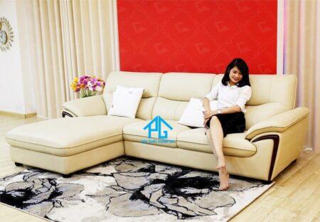 Sofa da nhập khẩu PG 362