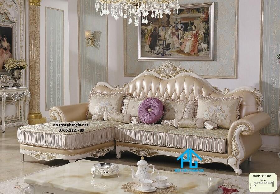 Sofa tân cổ điển 8028