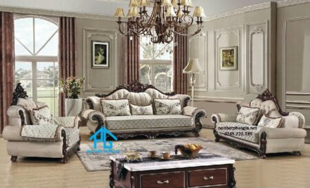 Sofa tân cổ điển KB80