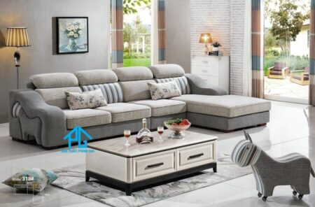 Sofa vải nhập khẩu 318