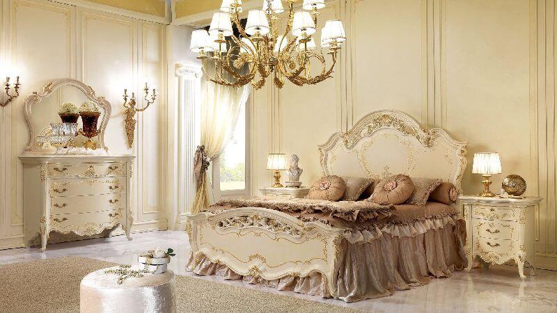 tab đầu giường cổ điển sang trọng