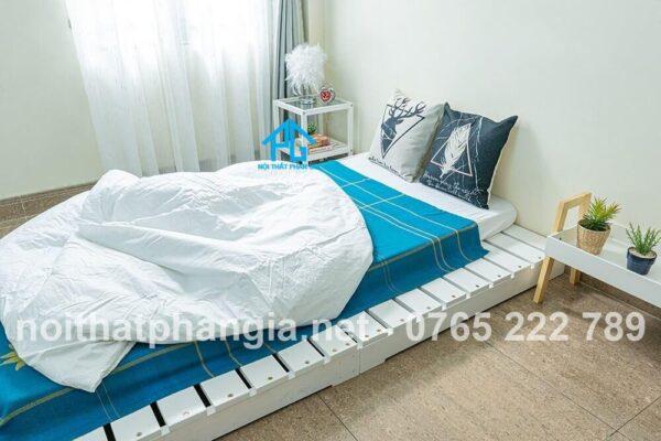 ưu điểm của giường gỗ pallet