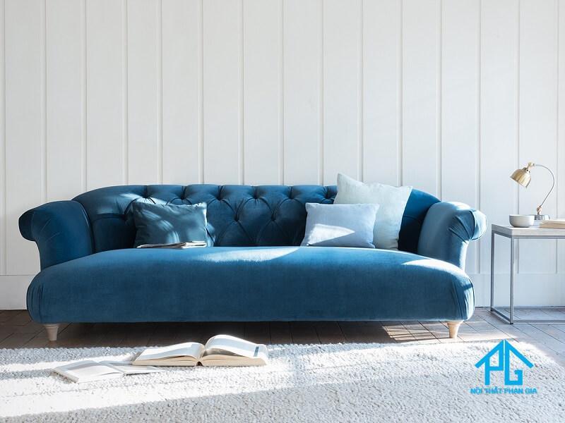 bảo quản vệ sinh sofa vải nhung
