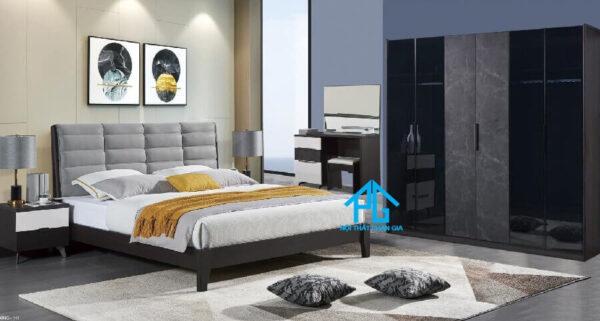 bộ giường ngủ bàn phấn 9101