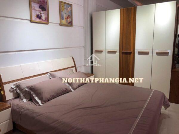 bộ giường ngủ gỗ công nghiệp 9608B