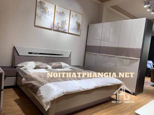 bộ giường ngủ hiện đại cao cấp AB201A