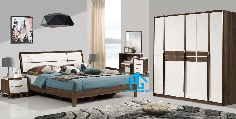 Bộ giường ngủ tinh tế 8301ZT