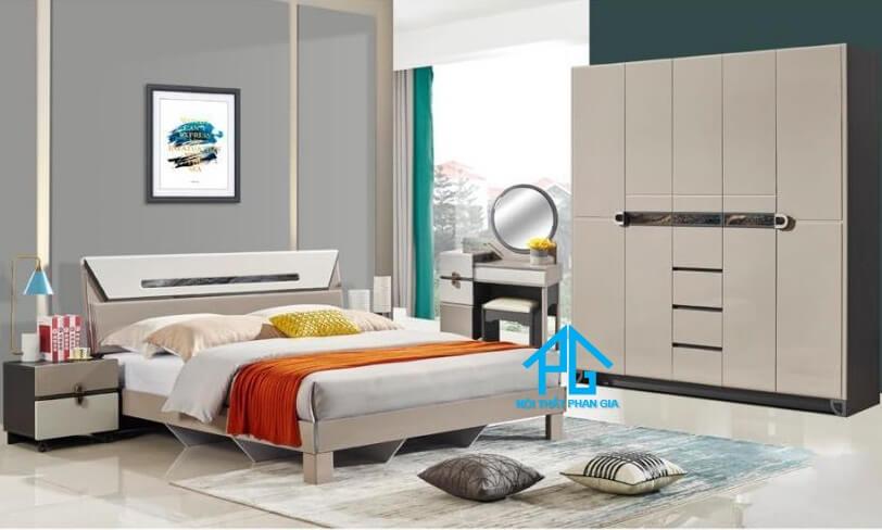Bộ giường ngủ tinh tế AB 201A