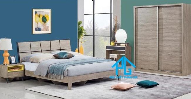Bộ giường ngủ tinh tế AB 8508