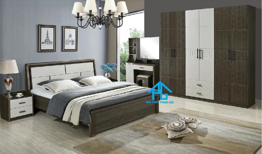 Bộ giường ngủ tinh tế AB 8863C