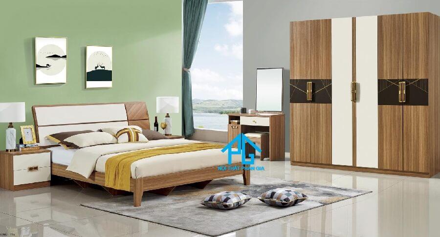 Bộ giường ngủ tinh tế AB 8901