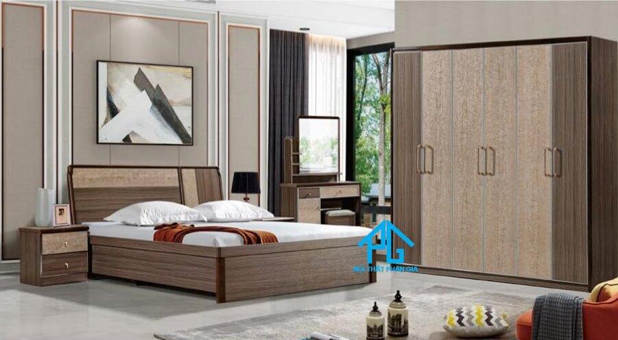 Bộ giường ngủ tinh tế AB 9303A