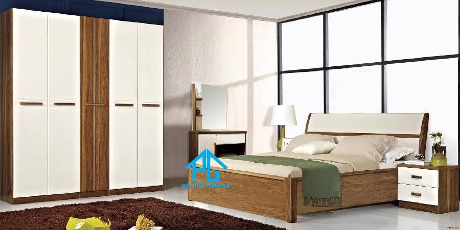 Bộ giường ngủ tinh tế AB 9608B