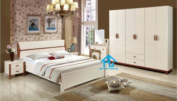 Bộ giường ngủ tinh tế AB 9831C