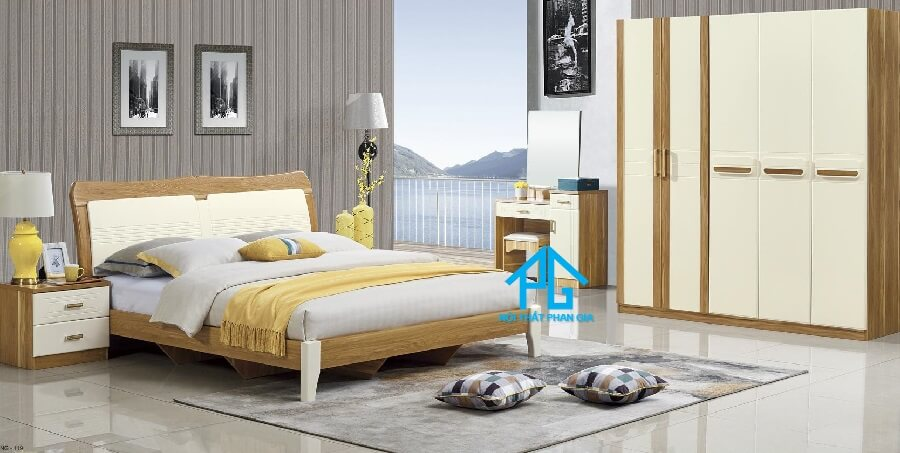 Bộ giường ngủ tinh tế AB 9A02
