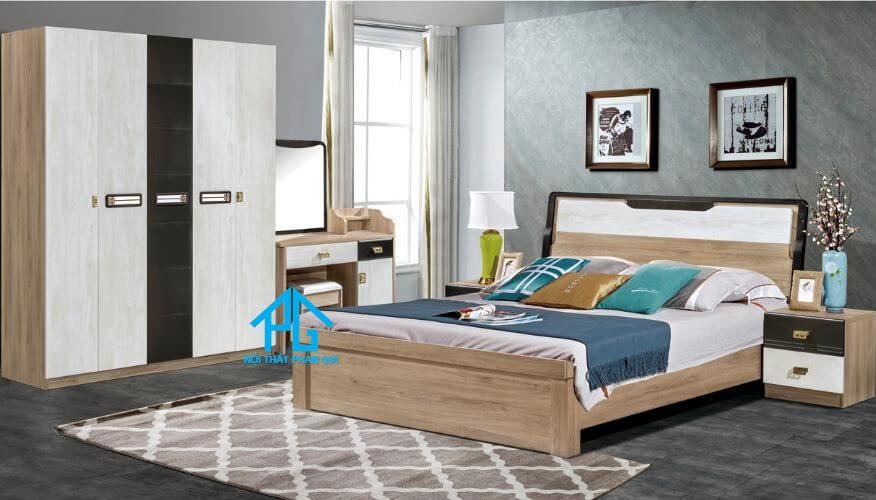 Bộ giường ngủ tinh tế AB F001