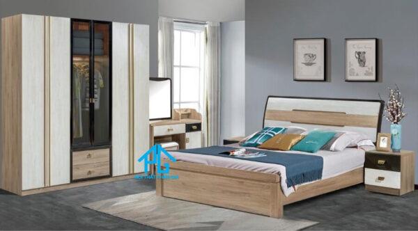 Bộ giường ngủ tinh tế AB FS002