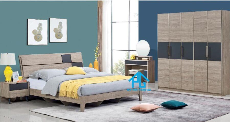Bộ giường ngủ tinh tế PG 8502