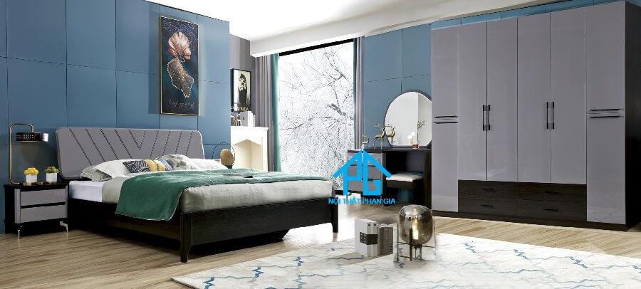 Bộ giường ngủ tinh tế PG 8502T