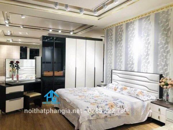 Bộ giường ngủ tinh tế AB 9508