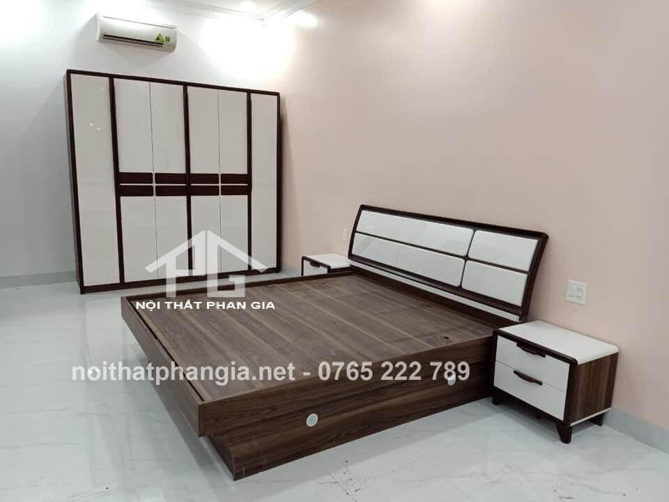 Bộ giường ngủ tinh tế 8301