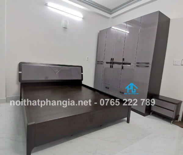 bộ giường tủ 805T hiện đại