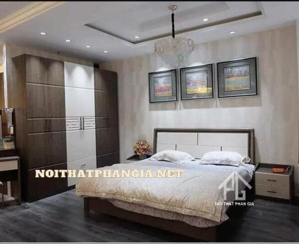 bộ giường tủ quần áo AB8863C