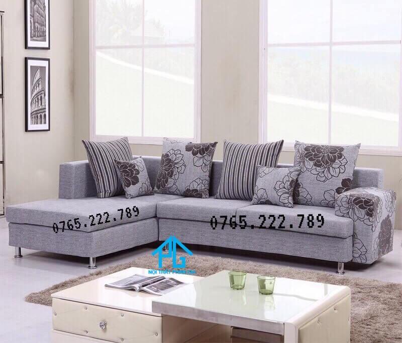 bộ sofa nỉ nhập khẩu phòng khách cao cấp;