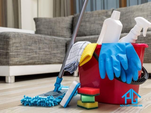 cách làm sạch ghế sofa vải tại nha