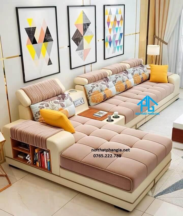 có nên mua sofa vải nhung;