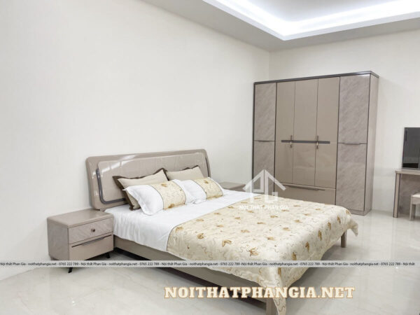 combo giường ngủ ab9202 cao cấp