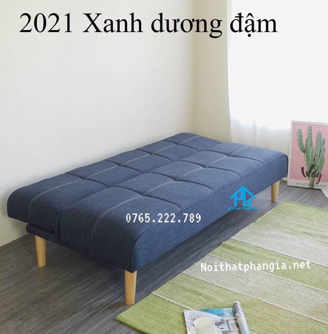 ghế sofa gỗ kéo ra thành giường;