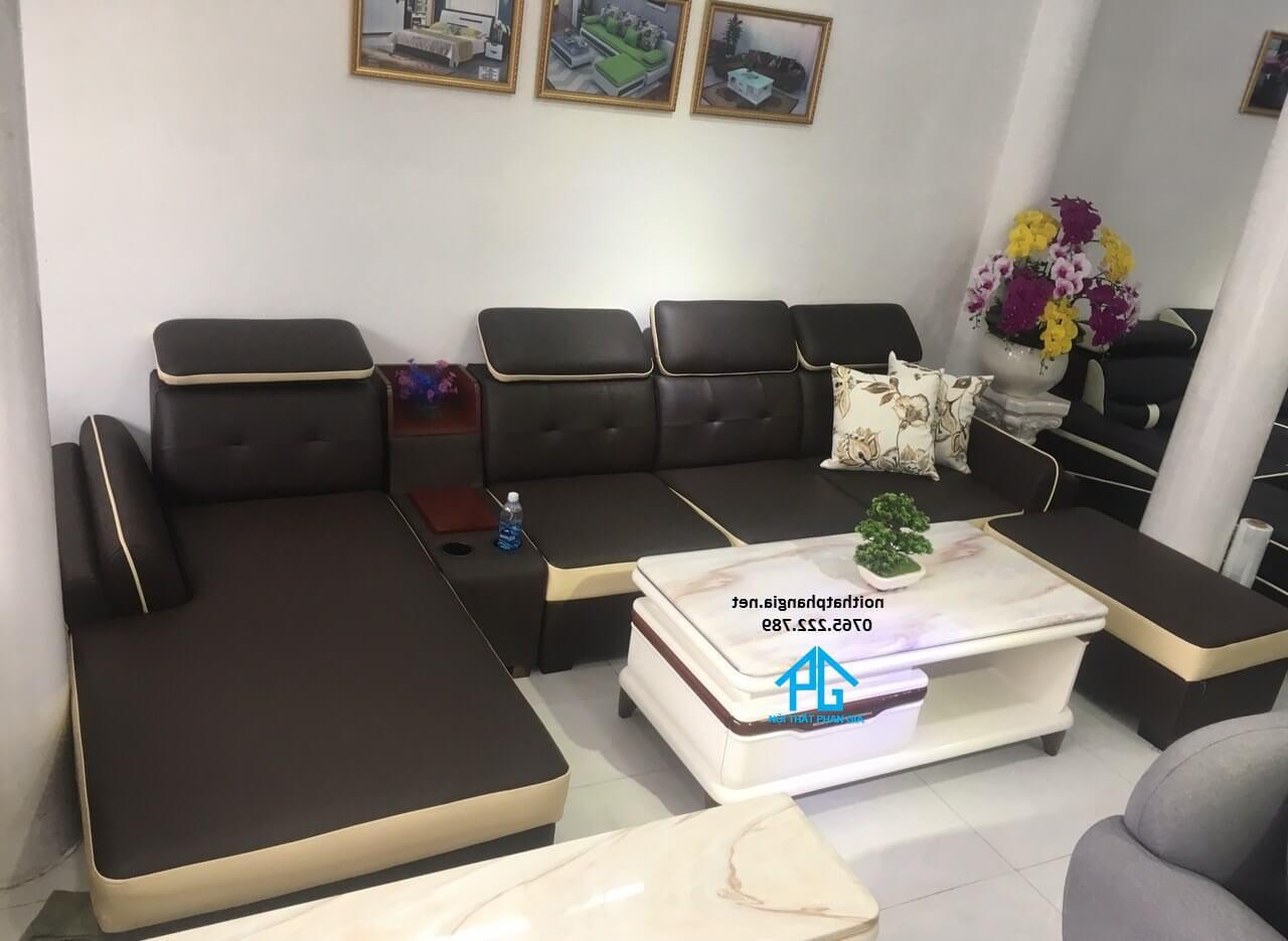 ghế sofa massa hiện đại;