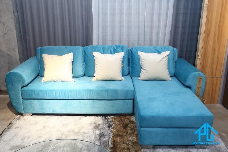 ghế sofa nhung cao cấp chất lượng