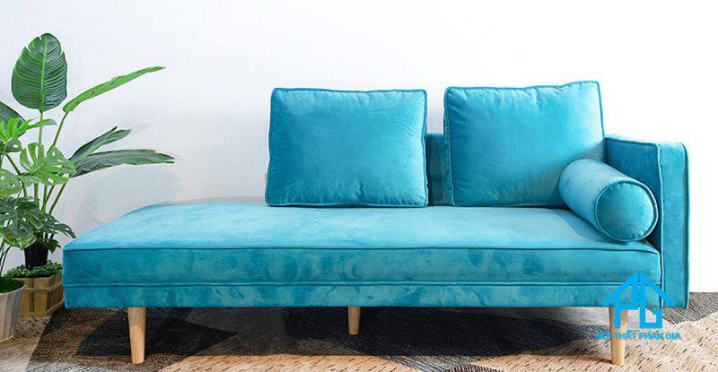 ghế sofa nhung sang trọng