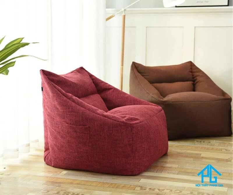 ghế sofa vải đơn