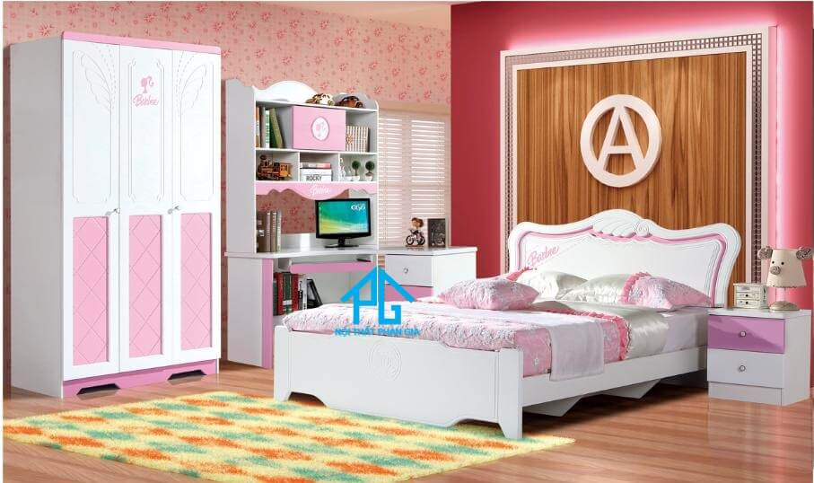 Giường tủ bàn học cho bé 9902